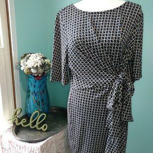 Ann Taylor Wrap Dress Size XL
